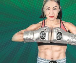 Jackie Nava se prepara en Tijuana, para su pelea contra la 'Barbie' Juárez