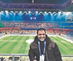El periodista Kike Mateu narra su partido más importante: Vencer al coronavirus