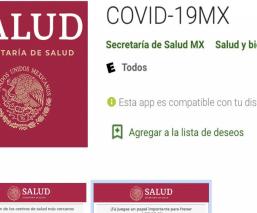 Secretaría de Salud lanza app para hacerle frente al Covid-19, ya está disponible