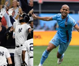 Yankees y New York City FC, unidos contra el Coronavirus