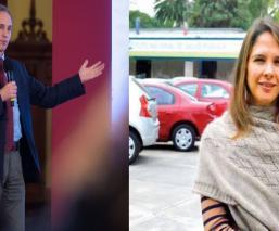 López-Gatell y su esposa Arantxa, la pareja de científicos que arrasó en Internet