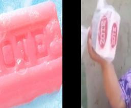 Mujer hondureña que recibió un jabón Zote en su despensa reclama que es para los perros