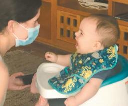 Matías, el pequeño que venció al coronavirus, fue contagiado por su mamá