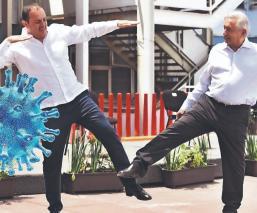 AMLO y Cuauhtémoc Blanco alistan hospital del ISSSTE para combatir Covid-19, en Cuernavaca