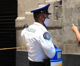 Diez policías de la SSC-CDMX dieron positivo a Covid-19; uno murió y dos están en hospital