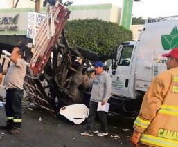 Muere bombero por culpa de conductor ebrio que lo chocó, en Morelos