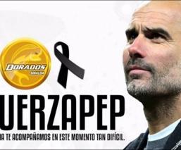 Equipos envían condolencias a Pep Guardiola, tras muerte de su mamá por Covid-19