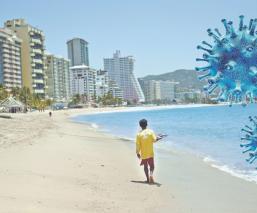 Covid-19: Acapulco recibe la Semana Santa con más policías y militares, que turistas