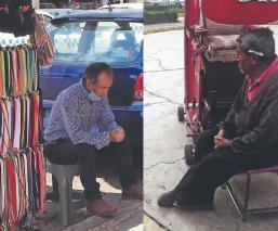 Pocos ancianos toluqueños pueden cumplir con la cuarentena, ya que viven de sus ventas
