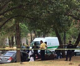 Matan a hombre en su auto en la Segunda Sección del Bosque de Chapultepec