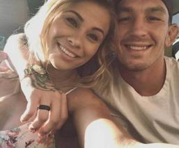 Peleadora de la UFC en cuarentena publica fotos desnuda en Instagram con su esposo