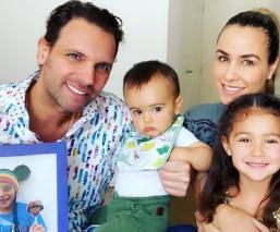 Alegría en Jueves Santo: Se reencuentra la familia de Patricio Borghetti y Odalys Ramírez