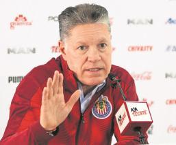 Ricardo Peláez asegura que Covid-19 no frenará los planes de las Chivas