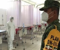 Hospital Militar en Edomex abre sus puertas para atender casos de coronavirus en civiles