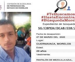 Joven fue buscado por más de dos meses, pero su cuerpo estaba en el Semefo de Morelos