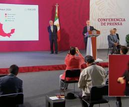 México termina Jornada de Sana Distancia con semáforo epidemiológico de Covid-19 en rojo