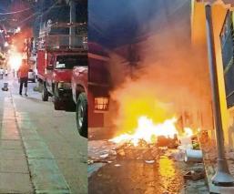 Pobladores en Chiapas desatan violenta protesta contra supuestos drones que esparcen Covid