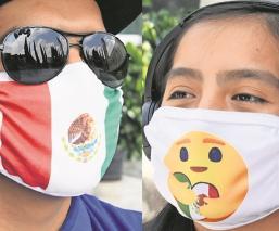 En Chiconcuac, fabricantes de ropa dan giro a su negocio y ahora hacen cubrebocas