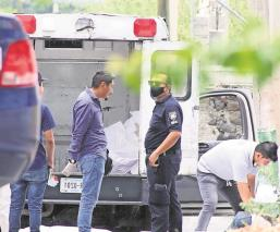 Hombre fue asesinado por la espalda a balazos en Morelos, los agresores lograron huir