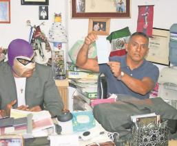 Luchadores reciben apoyos económicos del Gobierno de la CDMX, por falta de trabajo