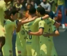 América celebra en la eLiga MX