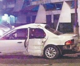 Aparatoso choque en Paseo de la Reforma cobra una vida y deja dos lesionados, en CDMX