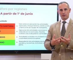 Hugo López-Gatell afirma que habrá un rebrote de Covid-19, si no se respeta el semáforo