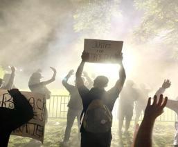 Protestas por muerte de George Floyd llegan a la Casa Blanca; Trump se resguarda en búnker