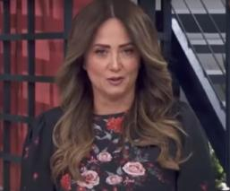 Andrea Legarreta rompe en llanto al anunciar la muerte de Héctor Suárez