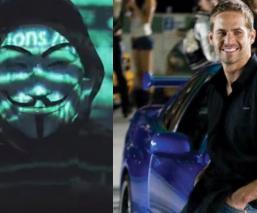 Anonymous revela 'la verdad' detrás de la muerte de Paul Walker, 'no fue un accidente'