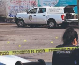 Asesinan a padre e hijo cerca de su casa al intentar escapar de un ataque, en Jiutepec