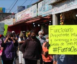 Comerciantes del mercado de Tres Marías, en Morelos denuncian acoso de la Guardia Nacional