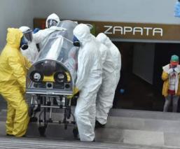 Encapsulan en Metro Zapata a hombre con coronavirus; nadie supo con cuántos tuvo contacto