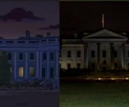 ¿Los Simpson predijeron apagón de la Casa Blanca?