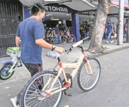Contingencia en la CDMX impulsa venta de bicicletas, su costo aumentó un 30 por ciento