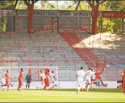 Por el Covid-19, futbolistas europeos deberá acostumbrarse a jugar sin afición en estadios