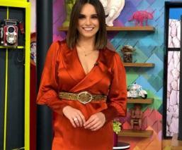 """Tania Rincón llega como conductora a """"Hoy"""" y así la recibieron Andrea Legarreta y Araiza"""