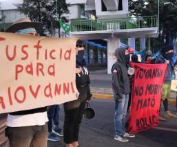 Estudiantes de la UAEMex en Edomex exigen justicia por el asesinato de Giovanni López