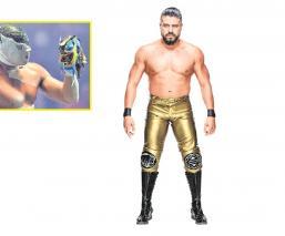 Andrade no olvida el duelo con el que se consagró en México, él destapó al Volador Jr.