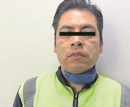 Detienen en la CDMX a sujeto que estranguló a su mujer, en una casa
