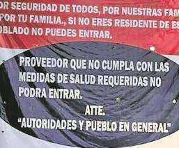 Pobladores de Tetelpa impiden el acceso a personas ajenas a su comunidad, por Covid-19