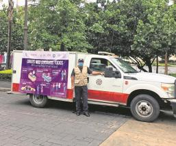 El gobierno de Morelos busca reforzar las medidas sanitarias y lanza convoy informativo