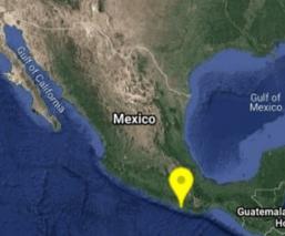 Se registra sismo de 5.2 grados en Oaxaca; se percibe en algunos zonas de la CDMX