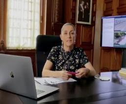 """Claudia Sheinbaum desmiente """"Semáforo Covid-19 a Verde"""" para el próximo lunes en la CDMX"""