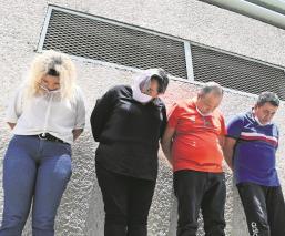 Detienen a cuatro personas que traficaban droga en el Reclusorio Norte de la CDMX