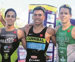 Irving Pérez, en la lista de candidatos de la Federación Mexicana de Triatlón para Tokio 2020