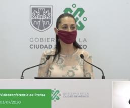 Sheinbaum anuncia castigos para establecimientos que no cumplan medidas sanitarias en CDMX