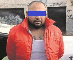 Apañan a sujeto que violó a su tía y le robó una cadenita de plata en la CDMX