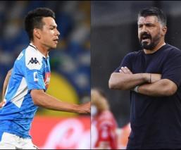 """Gennaro Gattuso sobre Hirving Lozano: """"Lo veo con más ganas de jugar"""""""