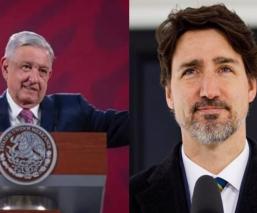 AMLO confirma que Justin Trudeau visitará México pronto y no asistirá con Trump en EU